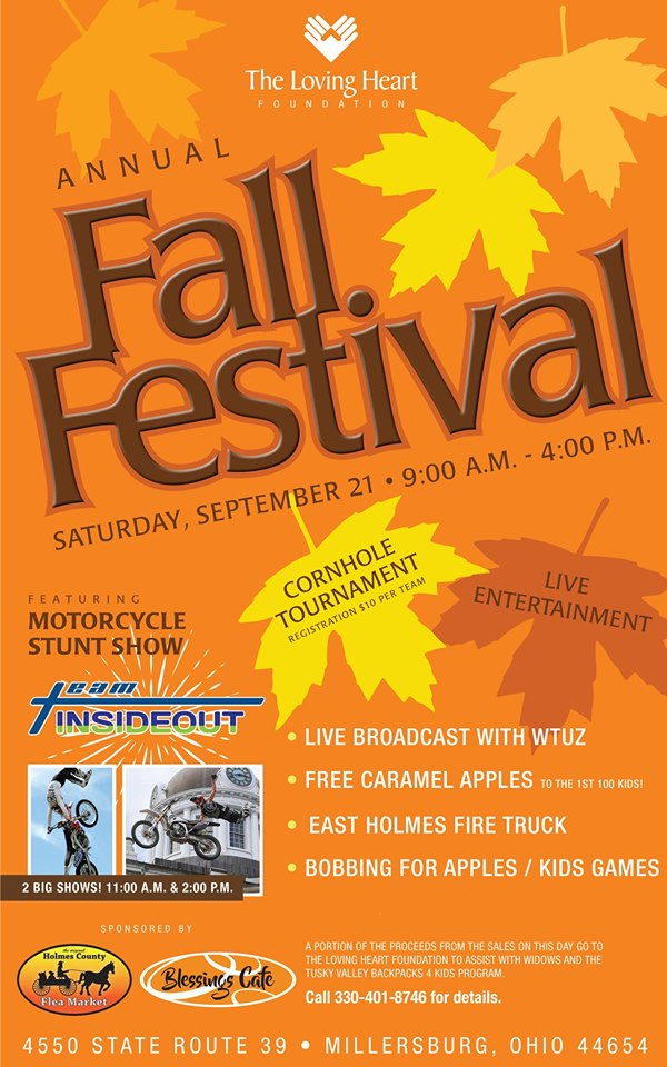 Loving Heart Fall Festival & Motorcycle Stunt Show